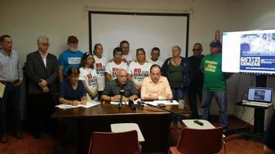 Comunidades contra las cenizas de carbón.