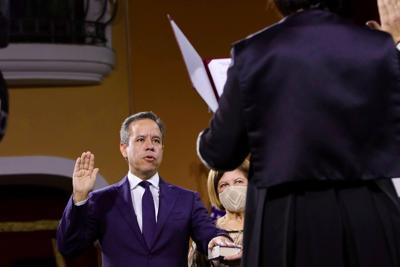 Miguel Romero - jura como alcalde de San Juan - Foto suministrada - enero 11 2021
