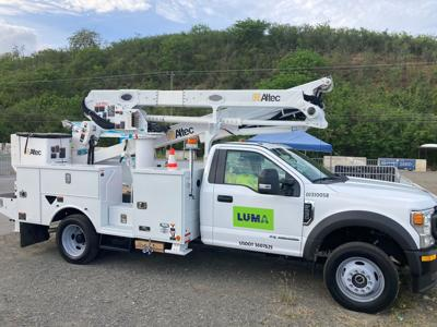 Luma Energy - camion - Foto via Luma Twitter - junio 7 2021