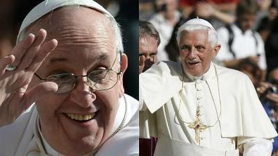 Papa Francisco y Benedicto XVI - enero 14 2021