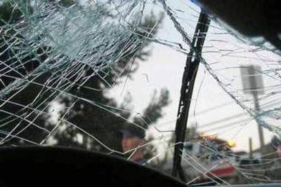 Choque - accidente - febrero 1 2019