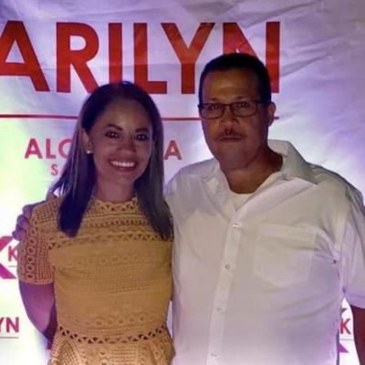 Karilyn Bonilla - alcaldesa Salinas y el legislador Carlos Colon Beltran - legislador municipal PNP endosa a alcaldesa popular - Foto suministrada - diciembre 13 2019