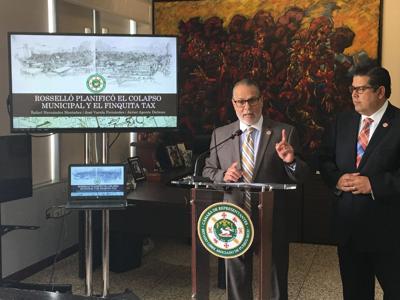 Representantes Jose Conny Varela y Rafael Tatito Hernandez