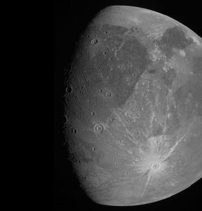 Luna de Jupiter la mas grande del Sistema Solar - Foto vía NASA - junio 9 2021