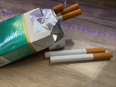 Cigarrillo con mentol - Foto via Cybernews - abril 29 2021