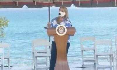 Wanda Vazquez - conferencia de prensa - Ceiba - Captura de pantalla - julio 23 2020