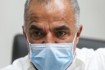 Lorenzo Gonzalez - secretario de Salud - Foto via Cybernews - mayo 8 2020