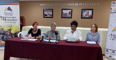 AMPR local sindical conferencai de prensa