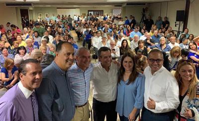 Miguel Romero - campaña - legisladores - Foto suministrada - abril 12 2019