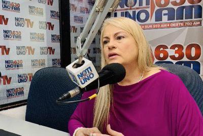 Wanda Vazquez - gobernadora PR - Foto Twitter - agosto 12 2019