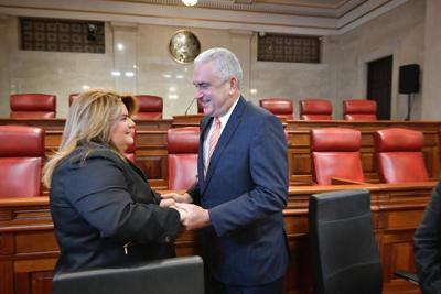 Jenniffer González y TRS reunión con legisladores y alcaldes 8-8-19