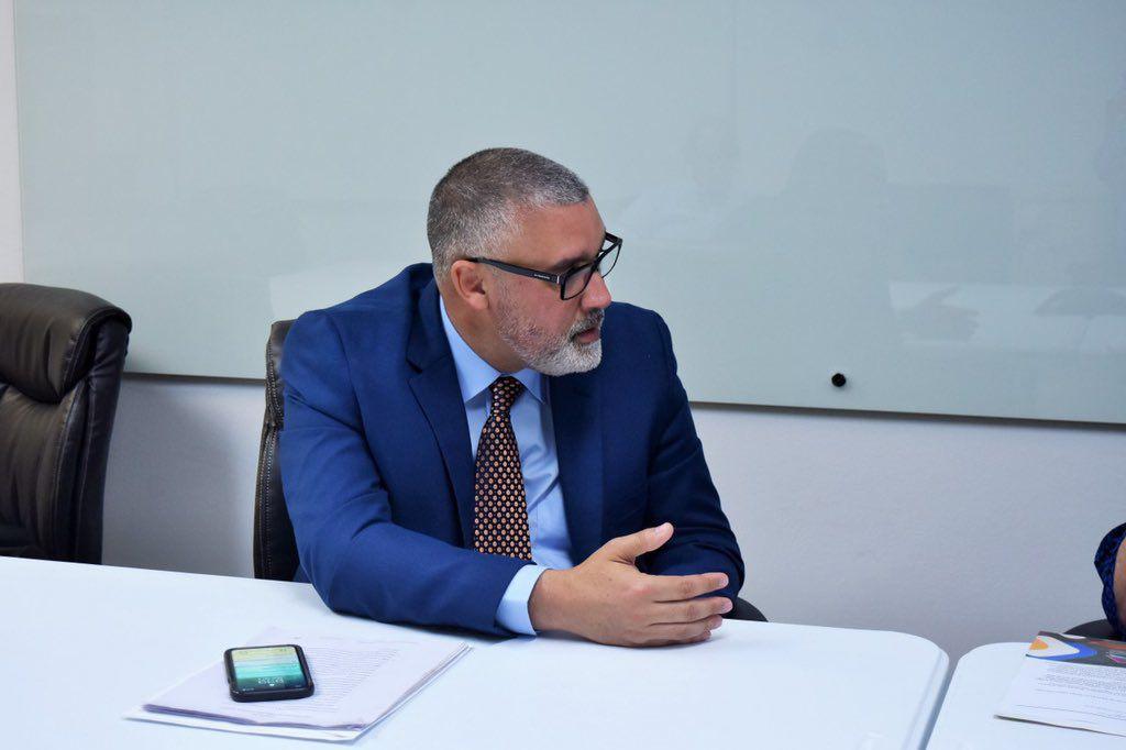 Eleuterio Alamo - designado secretario de Educacion - abril 8 2019