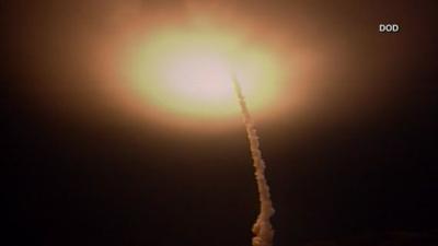 Estados Unidos - misil - prueba - California - captura de pantalla - mayo 10 2019