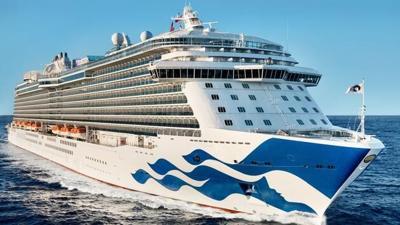 Crucero de Princess Cruises - Foto via Travel Pulse - julio 23 2020