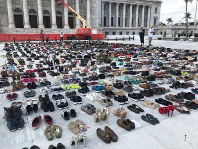 Capitolio - zapatos - febrero 24 2020