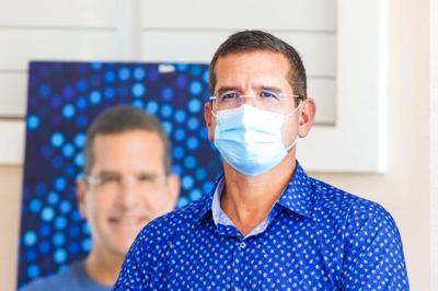 Pedro Pierluisi con mascarilla - Foto PP Twitter - septiembre 16 2020