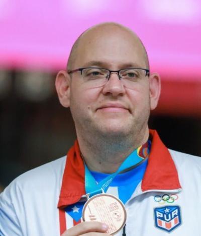 Medalla - Oro - boleador puertorriqueño - Foto suministrada - agosto 13 2019