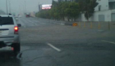 Inundación - carretera - noviembre 13 2018