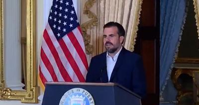 Rossello - conferencia de prensa - Fortaleza - Captura de pantalla - julio 12 2019