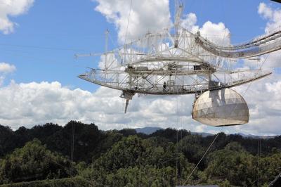 Arecibo - Observatorio y Radiotelescopio - noviembre 19 2020