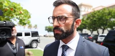 Eduardo Rivera Juanatey - secretario interino de Correccion - Foto captura de pantalla - octubre 1 2019