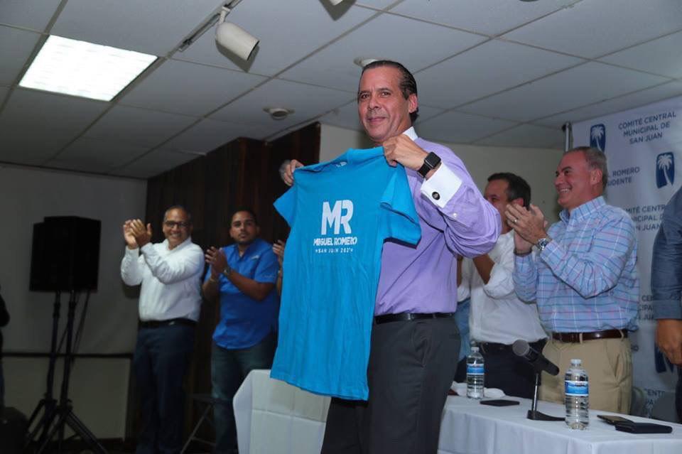 Miguel Romero - campaña - legisladores - Foto suministrada - abril 12 2019 - 2
