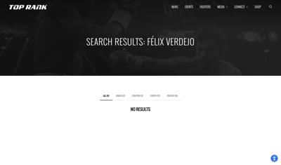 Top Rank - Felix Verdejo
