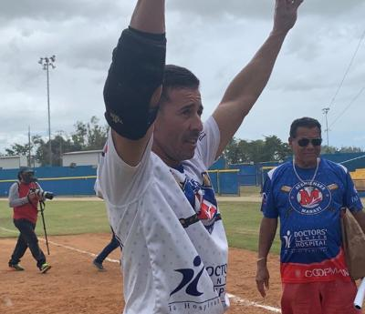 Beisbol Doble A - Jose Ponce - hit 900 - Foto suministrada - abril 15 2019