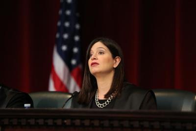 Maite Oronoz, jueza presidenta del Tribunal Supremo.
