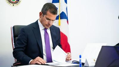 Pedro Pierluisi - gobernador de Puerto Rico - Foto Twitter - febrero 3 2021