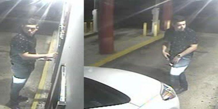 FOTOS: Policía busca pareja que roban en cajeros automáticos