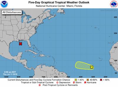 Onda tropical 11-7-19 NWS SJ