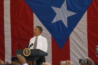Barack Obama - Visita Puerto Rico