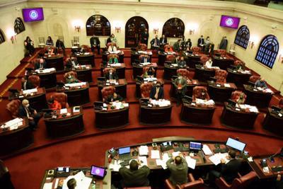 Hemiciclo del Senado - 4 marzo 2021