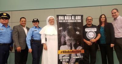 Policia - campaña educativa contra los disparos al aire - Foto suministrada - noviembre 15 2019