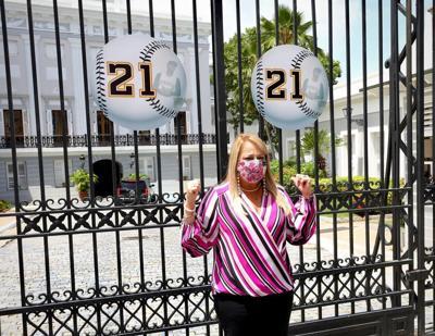 Wanda Vazquez - numero 21 - Fortaleza - Foto suministrada - septiembre 9 2020