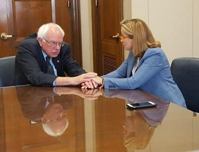 Carmen Yulin y senador Sanders