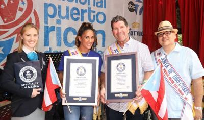 Guinness - Amanda Serrano y Edgar Martinez - Foto suministrada - junio 10 2019