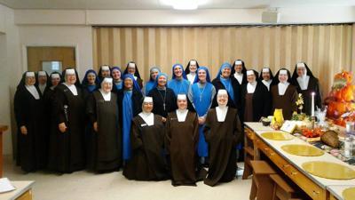 Hermanas Carmelitas del Sagrado Corazón.
