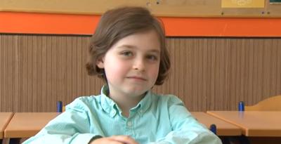 Niño - 9 años - se graduara de la universidad - Captura de pantalla YouTube - noviembre 15 2019
