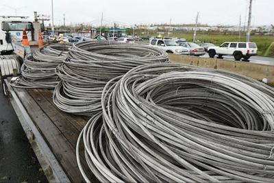 Acusan individuos sorprendidos cuando robaban cables de cobre de compañía de telefonía