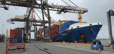 Muelle - San Juan - carga - Foto suministrada Cybernews - agosto 2 2021