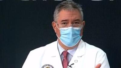 Segundo Rodriguez - doctor - director Task Force medico del gobierno - Captura de pantalla - abril 15 2020