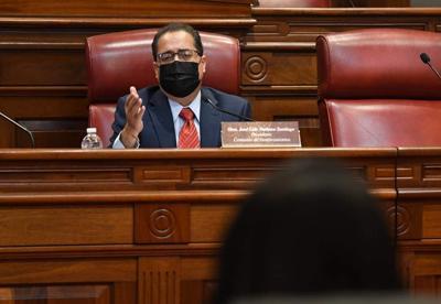 Jose Luis Dalmau - presidente del Senado - Foto Twitter Senado - abril 27 2021