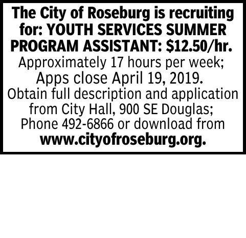 The City of Roseburg