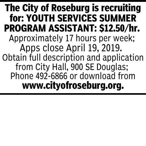 The City of Roseburg