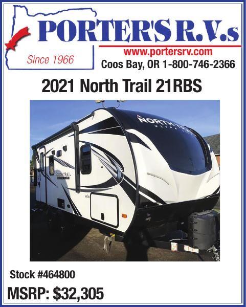 Porter's RV 2021 North Trail 21RBS Stock #464800