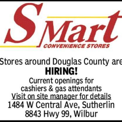 S-Mart Stores around Douglas County are