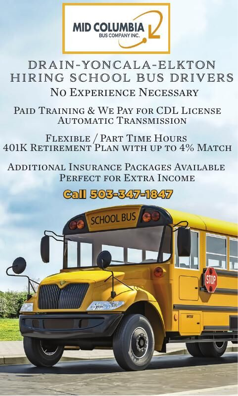 North County Bus Drivers Needed