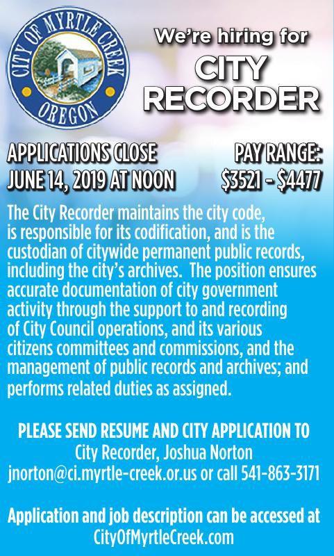 City Recorder
